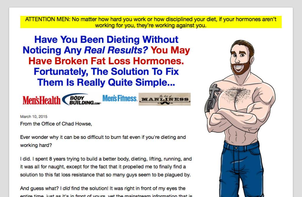 Men's Website