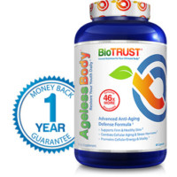 Bottle of BioTrust Ageless Body